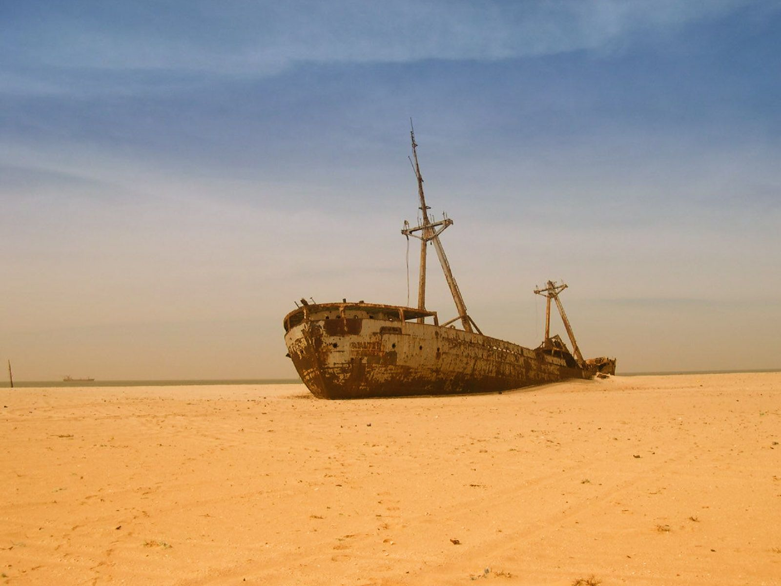 the shipwreck Define shipwreck: a wrecked ship or its parts the destruction or loss of a ship an irretrievable loss or failure — shipwreck in a sentence.