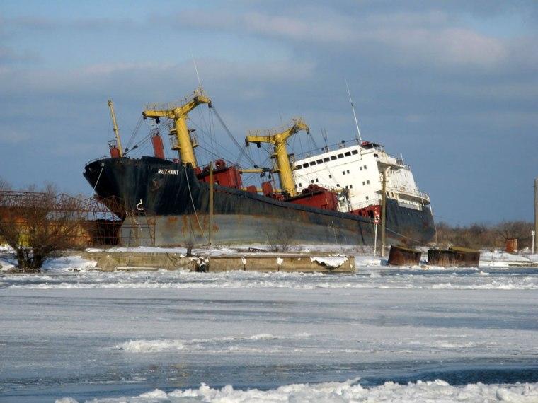 Shipwrecked-RUZHANY-in-Sulina-Romania