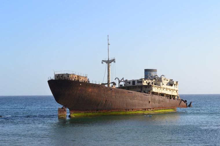 Telamon Shipwreck Lanzarote