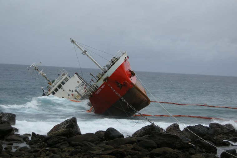 The-Colombo-Queen-ran-aground-during-Tropical-Storm-Linfa-on-June-21-2009