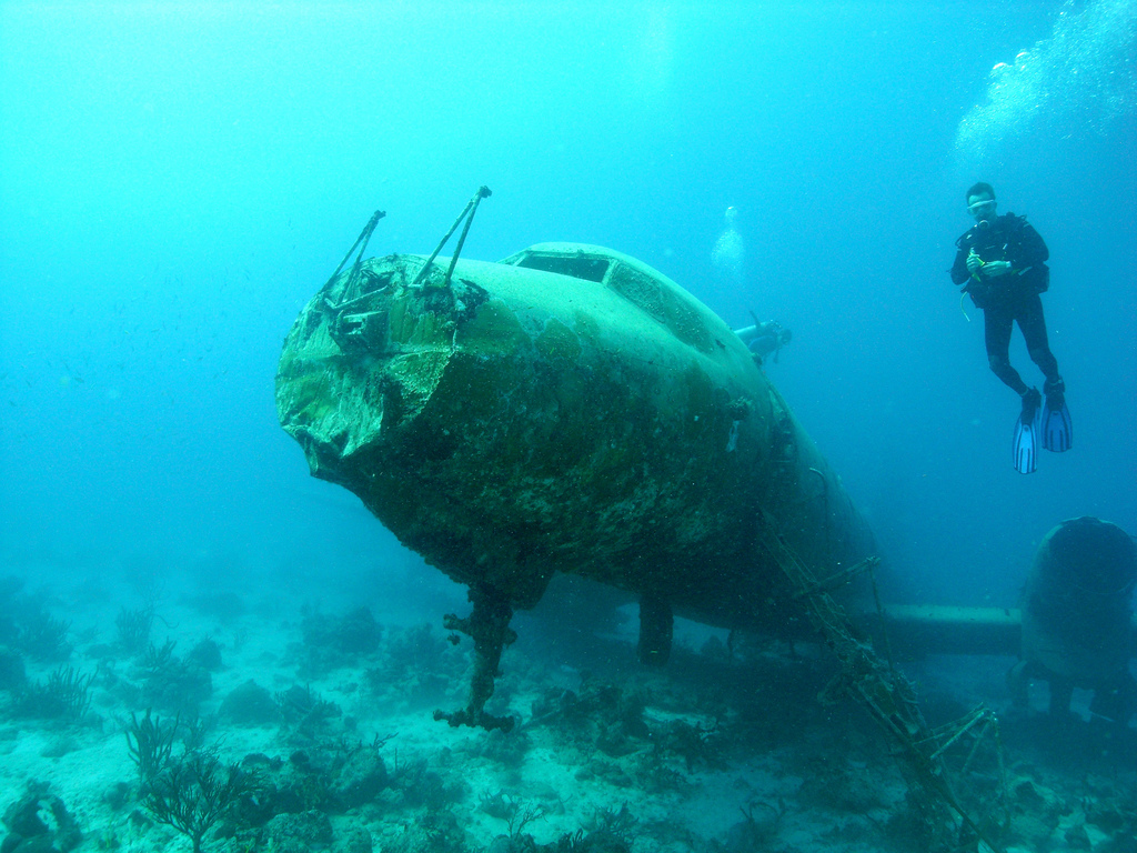 The Convair 400 World Ship Wrecks
