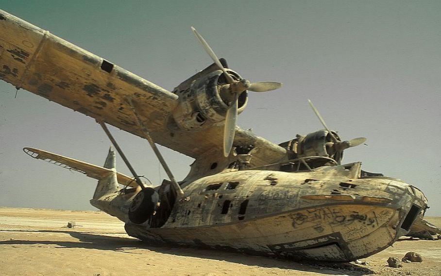 Ww2 Aircraft Wrecks Found In Desert | Download Foto ...